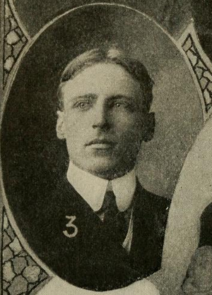 John H. McIntosh - McIntosh pictured in Spalding's official football guide, 1906