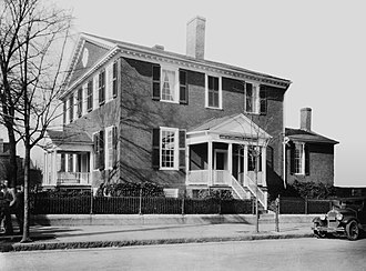 John Marshall - John Marshall's House in Richmond, Virginia