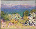 John Peter Russell - In the morning, Alpes Maritimes from Antibes, 1890.jpg