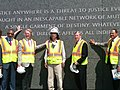 Johnny Isakson visits the MLK Memorial.jpg
