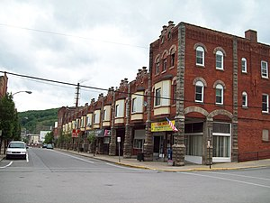 Johnsonburg Commercial Historic District - Johnsonburg Commercial Historic District, June 2009