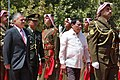 Jordan's King Abdullah II and Philippine President Rodrigo Duterte 07.jpg