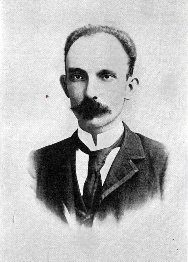 José Martí retrato más conocido Jamaica 1892