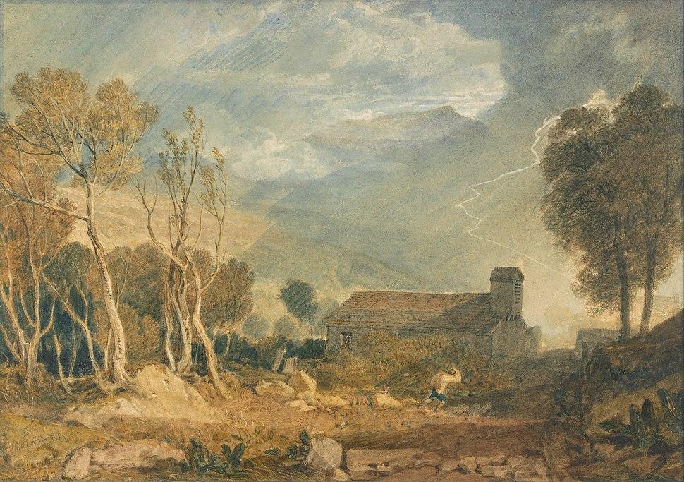 Joseph Mallord William Turner - Ingleborough from Chapel-Le-Dale - Google Art Project