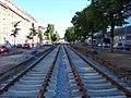 Jugoslávských partyzánů, rekonstrukce trati (04).jpg