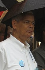 Julian Bond - University Professor and current Chairman of the NAACP