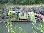 Junk cars along Spanish Fork River, Jul 15.jpg