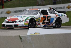 ARCA Racing Series - 2013 Rookie of the Year Justin Boston