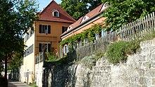 Gartenhaus der Familie Körner am Körnerweg 6 in Loschwitz (Quelle: Wikimedia)