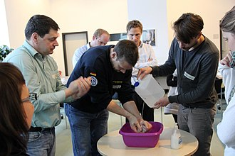 Capacity building - Training course on hygiene promotion in Berlin