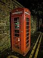 K6 Telephone Kiosk Adjoining Castle Wall, Lenton Road, Nottingham (1).jpg