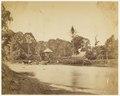 KITLV - 40328 - Stafhell & Kleingrothe - Medan - Crossing a river in Deli, Sumatra - circa 1890.tif