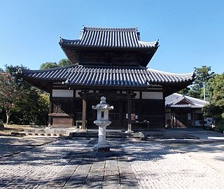 Kaidan-in Buddhist temple in Fukuoka Prefecture, Japan