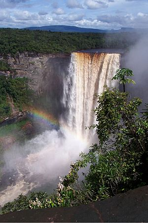 Pacaraima Mountains - Kaieteur Falls