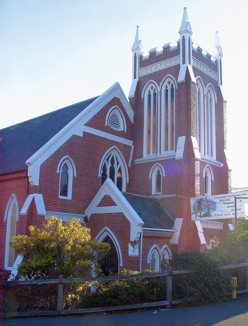 Kaikorai Presbyterian Church Dunedin New Zealand