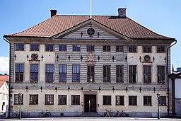 Kalmar rådhuse, som indlogerede tingsretten før flytningen den 1 januar 1987.