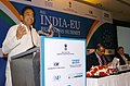 "Kamal Nath delivering the keynote address at the Inaugural Session of 8th India-EU Business Summit ""Technology and Innovation for Sustainable Development"" in New Delhi on November 29, 2007.jpg"