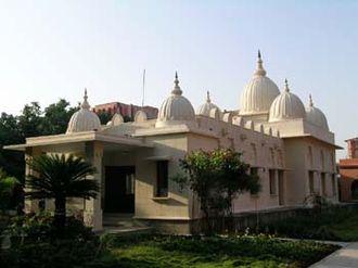 Kankhal - Sri Ramakrishna Temple, RKMS, Kankhal, Haridwar