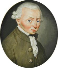 Miniature du buste d'un homme portant perruque.