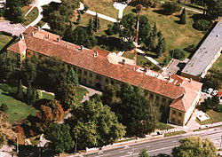 Kapuvár palace is now the Rábaközi Museum