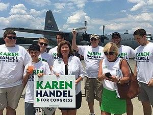 Karen Handel - Karen Handel campaigning for 2017 run-off election