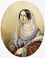 Karl (Pavlovic) Brjullov (1799–1852)- Portrait of a Woman - Naisen muotokuva - Porträtt av en kvinna (29178817360).jpg