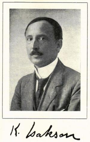 Karl Isakson - Karl Isakson  (date unknown)
