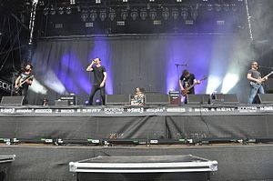 Karnivool - Karnivool performing at the 2014 Rock am Ring