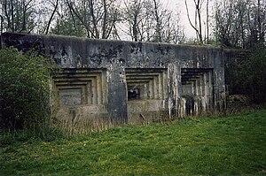 Fort Eben-Emael - Image: Kasematte Maastricht 2