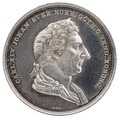 Kastpenning från Karl XIV Johans begravning, 1844 - Livrustkammaren - 100566.tif