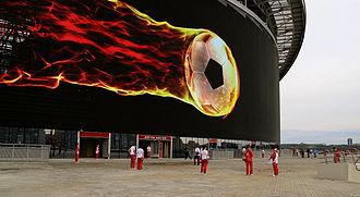 Kazan Arena - Image: Kazan arena screen