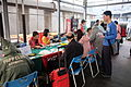 Keelung Temporary Post Office at Naval Pier Basketball Court 20150316b.jpg