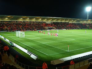 Doncaster Rovers F.C. - Current home of Doncaster Rovers – the Keepmoat Stadium