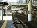 Keikyu-railway-airport-line-Kojiya-station-platform-20081119.jpg