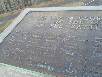 Battle of Kennesaw Mountain - Image: Kennesaw Mountain Battlefield Monument