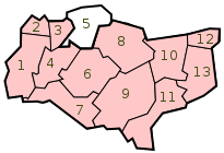 KentDistrictsNumbered.svg