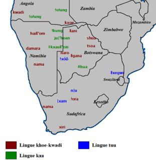 Taa language Khoisan language