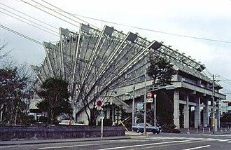 Kiyonori Kikutake - Image: Kikutake Miyakonojo 1979