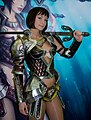King's Bounty booth-babe from Igromir 2008.jpg