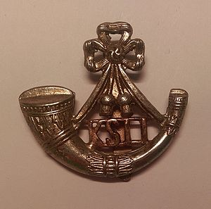 King's Shropshire Light Infantry - Regimental cap badge of the King's Shropshire Light Infantry.