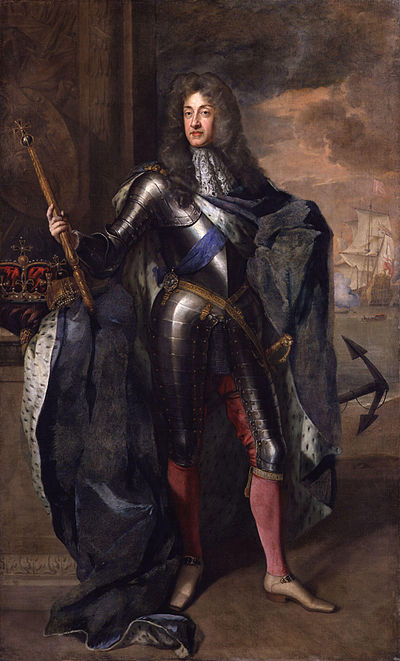 James VII and II Irish Catholics, known as Jacobites, fought for James in 1689-91, but they failed to restore him to the throne of Ireland, England and Scotland King James II by Sir Godfrey Kneller, Bt.jpg