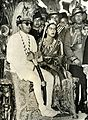King Mahendra Bir Bikram Shah and Queen Ratna Rajya Lakshmi Devi, shortly after the King's coronation, 1955.jpg