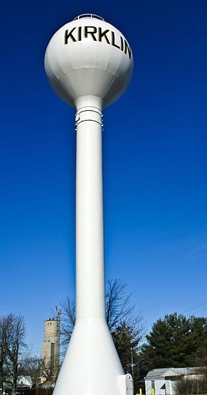 Kirklin, Indiana - Kirklin water tower