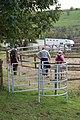 Kissing gate, Longbottom farm, Mendips - geograph.org.uk - 996627.jpg