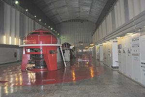 Kolyma Hydroelectric Station - Kolyma Turbine Hall