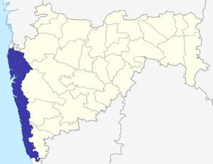 Konkan division - Image: Konkan Division