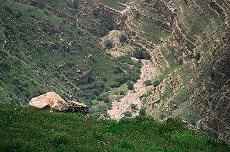 Kopet Dag - Kopet Dag Mountains in May.