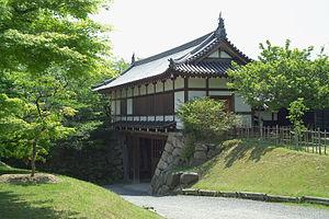Kōriyama Castle - A gate at the castle