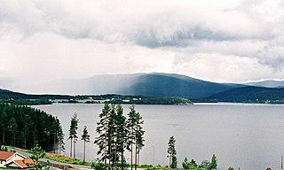 Krøderen (lake) Lake in Flå and Krødsherad, Buskerud, Norway