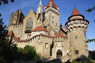Burg Kreuzenstein - View from the west